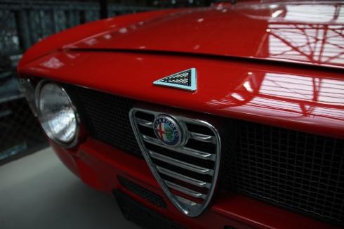 Alfa GTA in der Classic Remise Düsseldorf