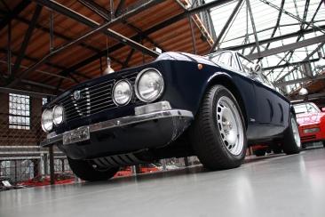 Alfa Romeo Giulia in der Classic Remise Düsseldorf