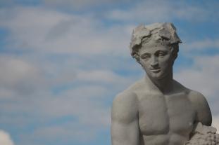 Statuen im Benrather Schloßpark