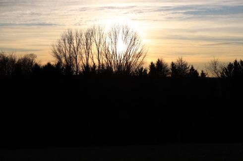Homberger Sonnenuntergang