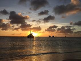 Sonnenuntergang Aruba